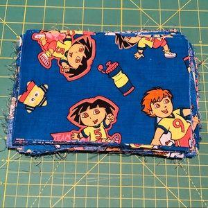 Pre Cut Fabric Squares Cotton Dora & Diego